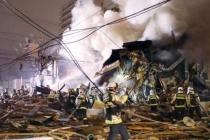 Nổ lớn san phẳng nhà hàng Nhật Bản, hơn 40 người bị thương