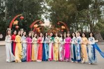 Người đẹp Kinh Bắc 2019 thướt tha áo dài đón Xuân về