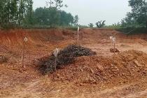 Hà Tĩnh: Đào đất xây dựng công trình, người dân tá hỏa phát hiện bom 2,5 tạ