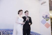 MC điển trai Nam Linh kết hợp cùng Á Hoàng Golf Queen Hải Anh trong sự kiện Hội thảo quốc tế