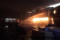 Bình Dương: Hơn 1.000m2 nhà xưởng bị thiêu rụi lúc rạng sáng