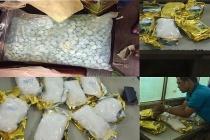 """""""Giao dịch"""" gần 17kg ma túy đá ngay cổng bệnh viện Chợ Rẫy"""