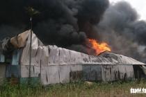 TPHCM: Nhà xưởng ở Hóc Môn bốc cháy ngùn ngụt giữa trưa
