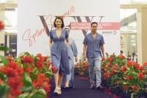50 người mẫu lần đầu trình diễn tại Vườn hoa Diên Hồng trong Tuần lễ thời trang Xuân – Hè 2020