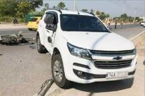 Quảng Ninh: Xe máy tông ô tô, 2 người thương vong