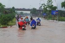 Hà Nội dành 22 tỷ đồng sửa chữa đường gom đại lộ Thăng Long