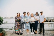 Hoa hậu Dương Cẩm Lynh trở lại sau thời gian vắng bóng ở Tiệm ăn dì ghẻ