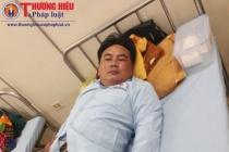 Thanh Hóa: Tài xế bị hai bố con nhà xe Trình Loan hành hung phải nhập viện điều trị