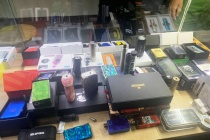 Đà Nẵng: Bắt giữ lô hàng thuốc lá điện tử lậu