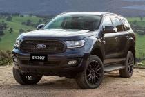 Ford Everest phiên bản thể thao cập bến với giá hơn 1 tỷ đồng