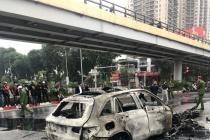 Hà Nội: Nữ lái xe ô tô Mercedes gây tai nạn nghiêm trọng đã ra trình diện