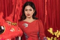 Hoa hậu Vũ Hương Giang sợ bị hỏi chuyện lấy chồng ngày Tết