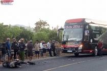 Kon Tum: Đối đầu xe khách, 2 người thiệt mạng tại chỗ