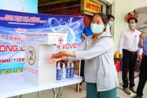Đà Nẵng đặt máy rửa tay tự động tại bốn chợ lớn