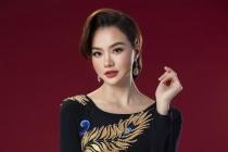 Hoa hậu Kiều Ngân hóa quý cô quyền lực trong tà áo dài Minh Châu