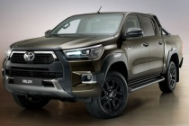 Toyota Hilux 2021 nâng cấp ngoại hình, ra mắt thiết kế mới