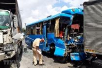 TPHCM: Tai nạn liên hoàn giữa 6 ô tô, nhiều người bị thương