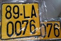 Từ 1/8, xe kinh doanh vận tải sẽ dùng biển số màu vàng