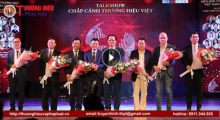 Toàn cảnh Diễn đàn Thương hiệu Việt Nam lần thứ I: Chắp cánh cho thương hiệu Việt bay xa