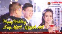 Đám cưới 'chuẩn' mùa bão virus Corona của cầu thủ Đỗ Duy Mạnh