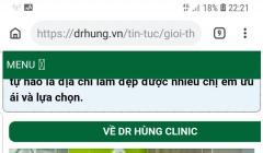 Phòng khám chuyên khoa tiết niệu Dr. Hùng: Núp bóng Bệnh viện An Việt, hoạt động trái phép?