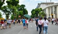 Ngành du lịch Hà Nội chuẩn bị để đón du khách dịp nghỉ lễ 30/4 và 1/5