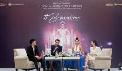 Hoa hậu H'hen Niê và Á hậu Võ Hoàng Yến hướng dẫn cách chọn trang phục tại Brave Tour Hà Nội