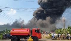 Đồng Nai: Cháy lớn tại công ty sản xuất bao bì