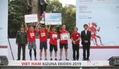 Dai-ichi Life tiếp tục là nhà tài trợ Vàng cho Giải chạy tiếp sức Vietnam Kizuna Ekiden 2019