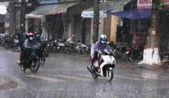 Dự báo thời tiết ngày 26/5: Bắc Bộ mưa dông, cần đề phòng lốc, sét và mưa đá