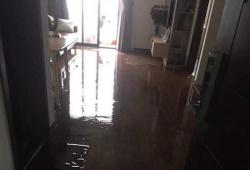 Chung cư An Bình City của Geleximco bị ngập nước