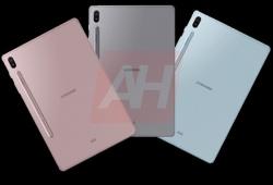 Hé lộ hình ảnh Galaxy Tab S6 với bút cảm ứng gắn bên ngoài