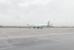 Bamboo Airways đón máy bay A321Neo, khởi hành chuyến bay thương mại đầu tiên