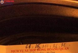 """Hà Tĩnh: Khách hàng """"tố"""" nhà xe Hoàng Quân lừa gạt, xe giường nằm 'biến' thành xe 16 chỗ"""