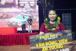 'VĐV ấn tượng nhất' giải đua xe địa hình VOC: 'Béo...không ảnh hưởng gì đến đam mê cả!!!'