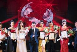 Hoa hậu Việt Hàn rạng rỡ tại Diễn đàn Thương hiệu Việt Nam lần thứ I