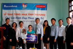 Sacombank đồng hành cùng Dai – Ichi Life Việt Nam trong hành trình lan toả yêu thương