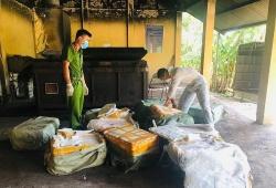 Lạng Sơn: Tiêu hủy hơn 500 kg nầm lợn nhập lậu