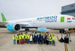Máy bay Boeing 787-9 Dreamliner đầu tiên cất cánh về với Bamboo Airways