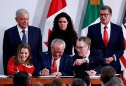 Ký kết Hiệp định Thương mại tự do Mỹ-Mexico-Canada