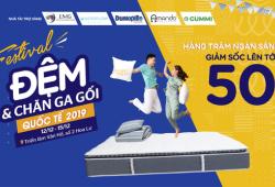 Festival Đệm & Chăn ga gối Quốc tế 2019
