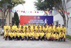Giải 'Chạy cùng Tâm Bình, chia sẻ ân tình' kỷ niệm 9 năm ngày thành lập Dược phẩm Tâm Bình