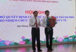 Hải Phòng: Giám đốc Bệnh viện Hữu nghị Việt - Tiệp làm Phó Giám đốc Sở Y tế