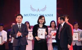 Tập đoàn Mường Thanh vào Top 10 Thương hiệu uy tín – chất lượng 2018