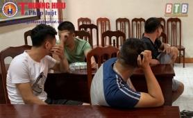 Thái Bình: Bắt tạm giam 4/10 đối tượng sử dụng ma túy trong quán karaoke