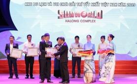 Sun World Halong Complex được vinh danh Top 5 khu du lịch và vui chơi giải trí tốt nhất Việt Nam
