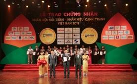 """Công ty BHNT Dai-ichi Việt Nam vinh dự đạt danh hiệu """"Top 20 Nhãn hiệu nổi tiếng Việt Nam 2019"""""""
