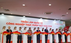 Tân Hiệp Phát tham gia gian hàng Thương hiệu quốc gia tại Vietnam Foodexpo 2019