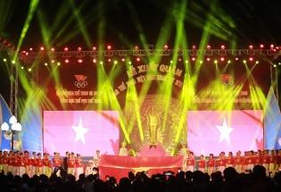 Lễ xuất quân của Đoàn Thể thao Việt Nam dự SEA Games 30