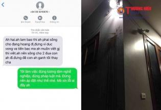 Phóng viên TCĐT Thương hiệu và Pháp luật tiếp tục bị đe dọa bằng tin nhắn